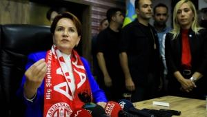 İyi Parti Lideri Meral Akşener'den kayyım değerlendirmesi!