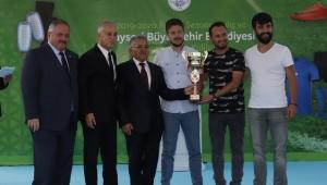 Kayseri Büyükşehir'den Amatör Spora Malzeme Desteği Geldi!