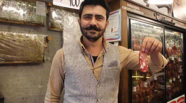 Kayseri'de gurbetçiler, pastırma ve sucuk satışını artırdı