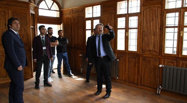 Kayseri Melikgazi'de Restorasyon Çalışmaları hızlandı!