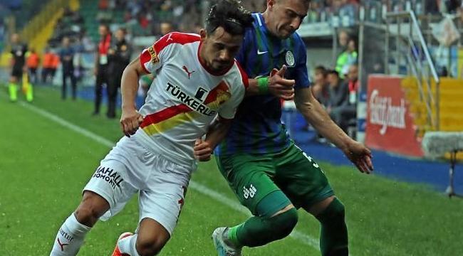 Rizespor, Göztepe karşılaşmasında gol sesi çıkmadı!