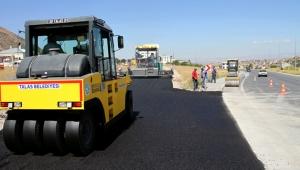 Talas'ta Sonbahar asfaltı!