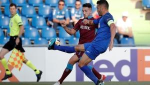 Trabzonspor UEFA Avrupa Ligi'nde Getafe deplasmanında mağlup oldu!