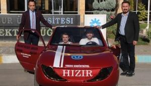 1 lira ile 100 kilometre yol giden yerli otomobil Hızır!