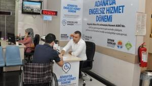 """Adana ASKİ'de """"engelsiz hizmet"""" dönemi!"""