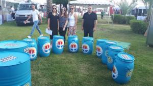 Adana Büyükşehir Belediyesi, Lezzet Festivali'nde oluşan atıkların geri dönüşümüne katkı sağladı!