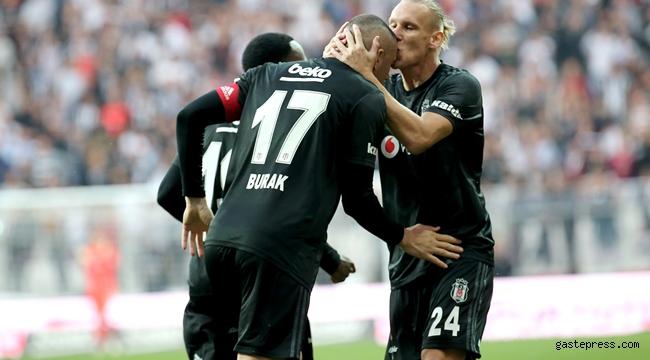 Beşiktaş, Alanyaspor'u geçti rahat bir nefes aldı!