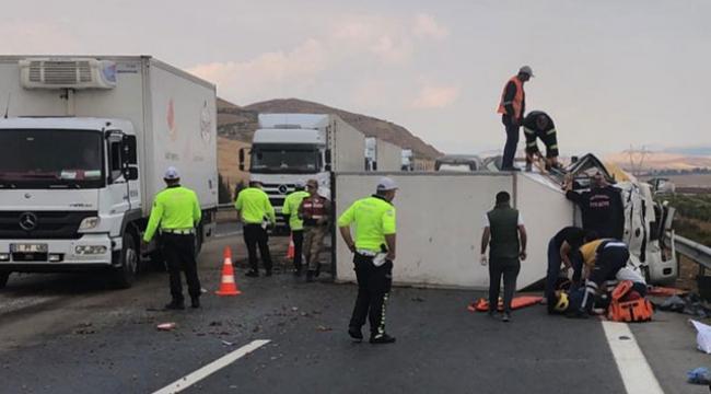 Gaziantep'te feci kaza: 1 ölü, 6 yaralı