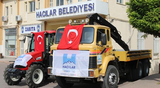 Hacılar Belediyesi Araç Filosu Güçleniyor!