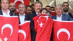 Kayseri Bugün Türk Bayrakları İle Donatıldı!