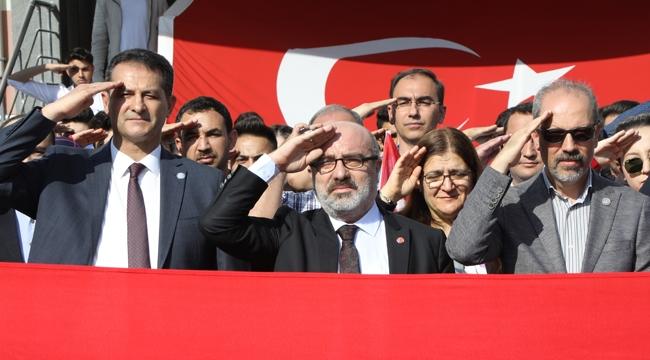 """Kayseri Üniversitesi'nden """"Barış Pınarı Harekâtına"""" Destek Mesajı!"""