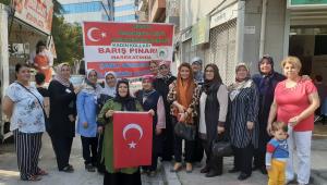 Konya'lı Hanımlardan Askerimize, Polisimize Destek