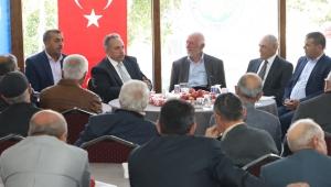 """Talas Belediye Başkanı Mustafa Yalçın """"Emriniz Olur, Biz de Yaparız"""""""