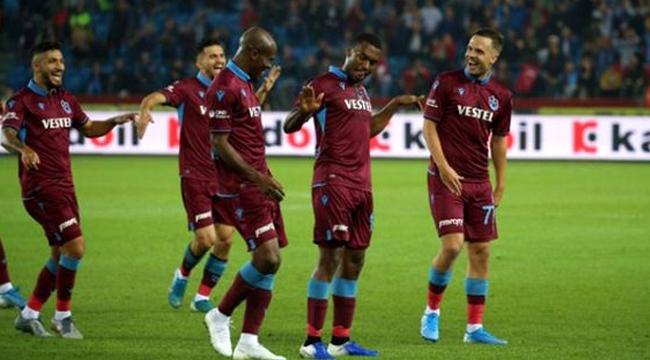 Trabzonspor Gaziantep maçında gol şov yaptı!