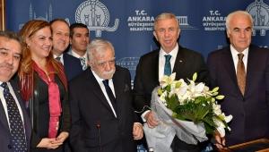 Başkent Ankara Meclisi Başkan Mansur Yavaş'ı ziyaret etti!
