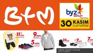 BYZ Outlet'de Yeni Açılan BTM Mağazası'nda alışveriş izdihamı!
