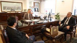 Harita Mühendislerinden Başkan Palancıoğlu'na Ziyaret!