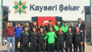 Kayseri Şekerspor Güreş Takımı Süper Lig'de Türkiye Üçüncüsü Oldu!