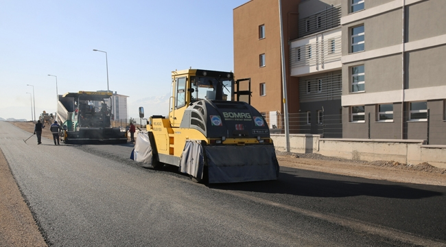 Melikgazi Belediyesi Bahçelievler Mahallesi'ndeki Asfalt Çalışmalarını Tamamladı!