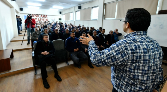 Ankara İtfaiyes'ne Kimyasal Eğitim