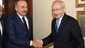 Dış İşleri Bakanı Çavuşoğlu'dan CHP'ye Libya tezkeresi ziyareti!