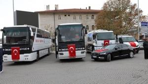 İncesu Belediyesine 5 yeni araç alındı!