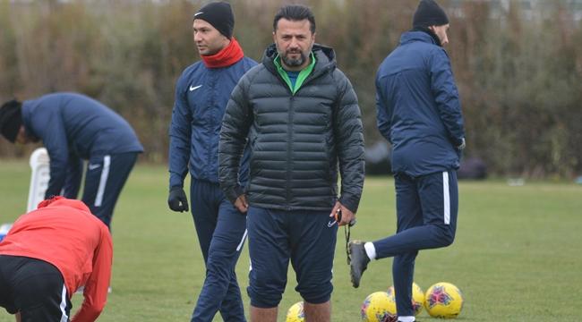 Kayserispor, Çaykur Rizespor maçı hazırlıklarını yaptığı antrenmanla sürdürdü.