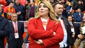 Kayserispor'da Berna Gözbaşı yeniden başkan seçildi!