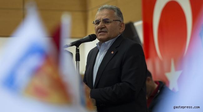 """Memduh Başkan """"Kayserispor'a Elbirliği ile Sahip Çıkacağız!"""""""