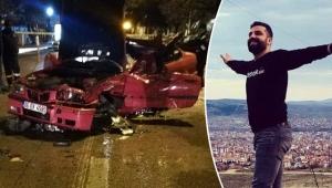 Yerel gazete muhabiri kazada öldü