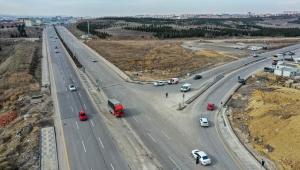 Ankara Büyükşehir'den Yeni Yol ve Kavşak Çalışmaları