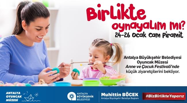 Antalya Büyükşehir Oyuncak Müzesi Antalya Anne Çocuk Festivali'nde