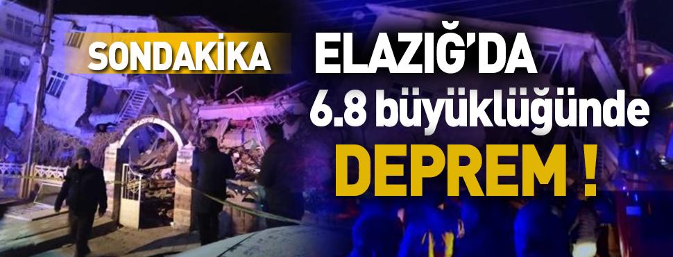 Elazığ'da korkutan deprem! Kayseri'de de Hissedildi! İşte Şiddeti!