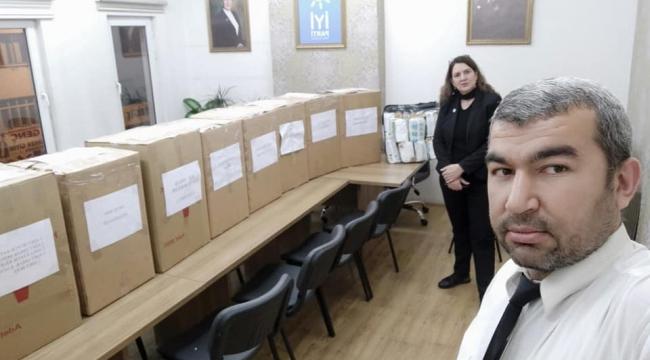 İYİ Parti Kayseri İl Başkanlığından Deprem Bölgesine Yardım!