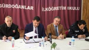 Kayseri Hacılar'da Güvenlik ve Muhtarlar Toplantısı Yapıldı!