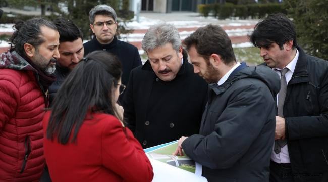 Kayseri Melikgazi Belediyesi'nden Alparslan Parkına Düzenleme