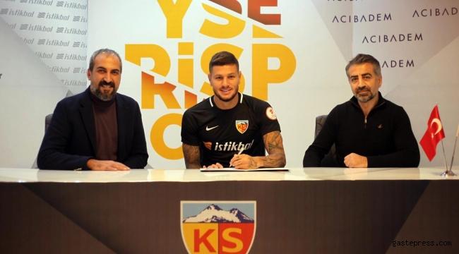 Kayserispor Diego Angelo de Oliveira ile sözleşme imzaladı