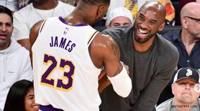 LeBron James Kobe Bryant'a duygu yüklü veda mesajı yayınladı!