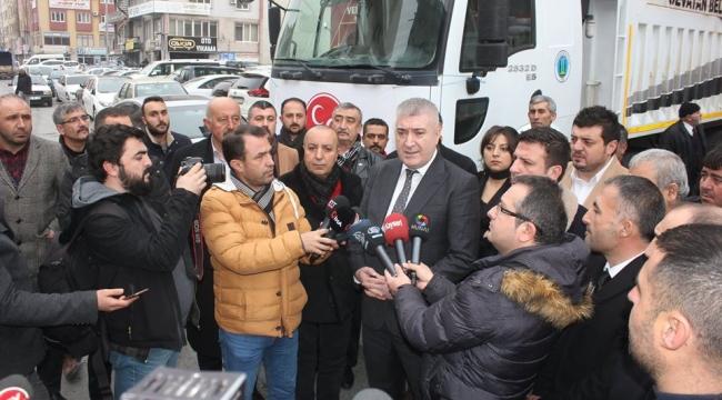 MHP Kayseri İl Başkanlığı'ndan depremzedelere yardım