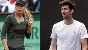Sharapova ve Djokovic'ten Avustralya yangınları için örnek davranış geldi!