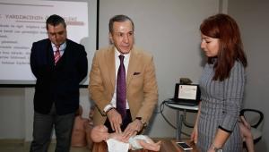 Adana Belediyesi'nden Bin Büyükşehir personeline ilk yardım eğitimi