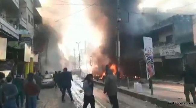 Afrin'de bombalı araçla saldırı: 8 ölü