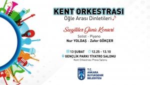 Ankara Büyükşehir'den Sevgililer Günü 'nde Müzik Şöleni