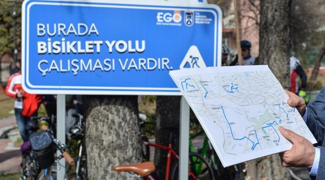 Ankara'da Bisiklet Yolu projesi için ilk adım atıldı!