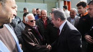Antalya Büyükşehir Belediye Başkanı Muhittin Böcek, Kaş'ı ziyaret etti