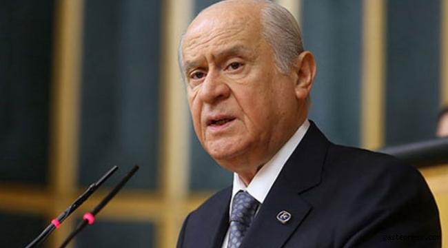 Bahçeli: Mustafa Akıncı'nın görevinden affını istemesi temennimizdir.