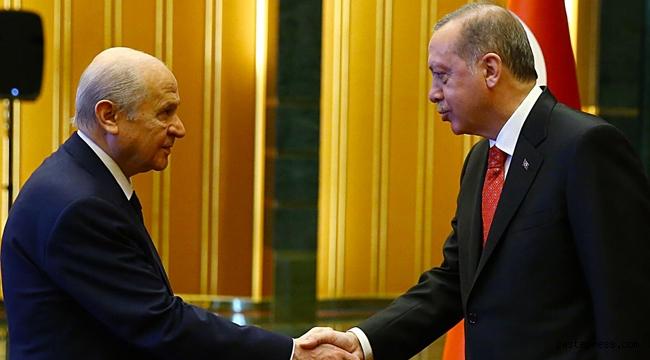 Cumhurbaşkanı Erdoğan ve MHP Lideri Bahçeli bugün Külliye'de görüşecek!