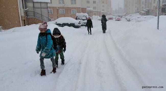 Eğitime kar engeli olan iller
