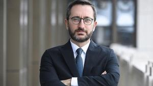 Fahrettin Altun 'Türk milleti, Mustafa Akıncı'ya haddini bildirecek!'
