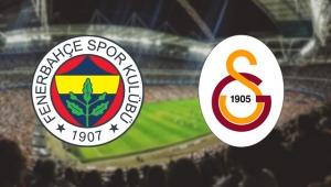 Fenerbahçe - Galatasaray derbisinin ilk 11'leri belli oldu
